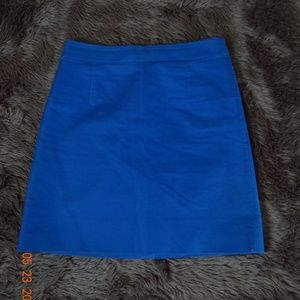 J. CREW WOMEN SKIRTS SIZE 2 COLOR BLUE